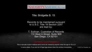 Bridgette B is a naughty blonde asshungry