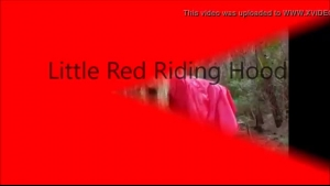 Sweet jeans Red Riding Hood